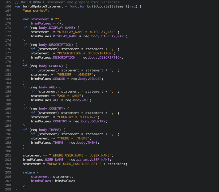 Developing RESTful APIs using Node js, Express and Oracle Database